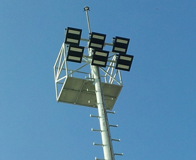 400w-Philis-floodlight-airport-nearest view