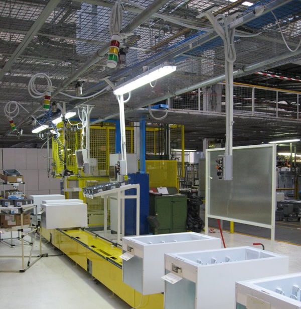 Italy Whirlpool production line