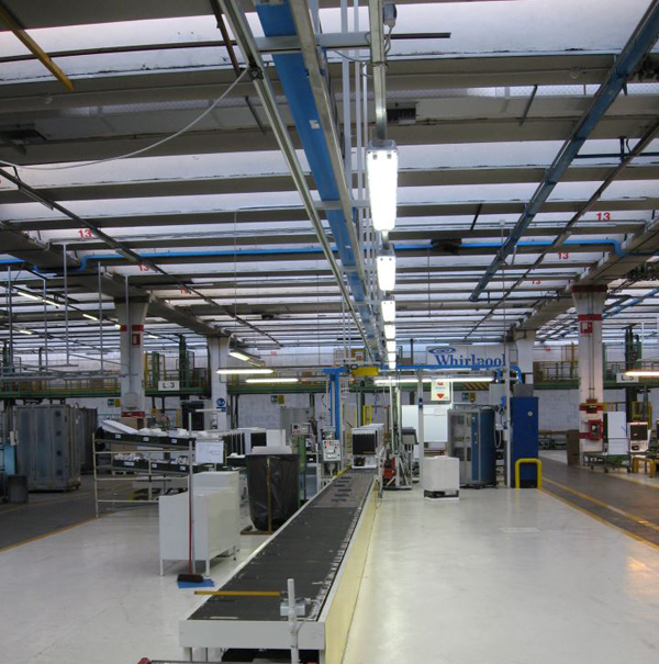 Whirlpool production lines