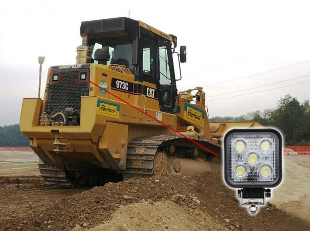 15Watt-led-work-light-bulldozer-application