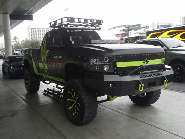 Off-Road car-led worklight-led light bar-application