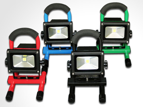 10W-Portable-Rechargeable-LED-work-light-color together