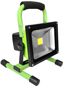 30W-Portable-Rechargeable-LED-Flood-light-green-color