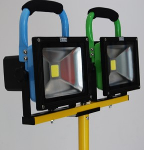 LED-Portable-Rechargeable-LED-floodlight-install-detailed