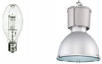 LED High Bay VS Metal Halide