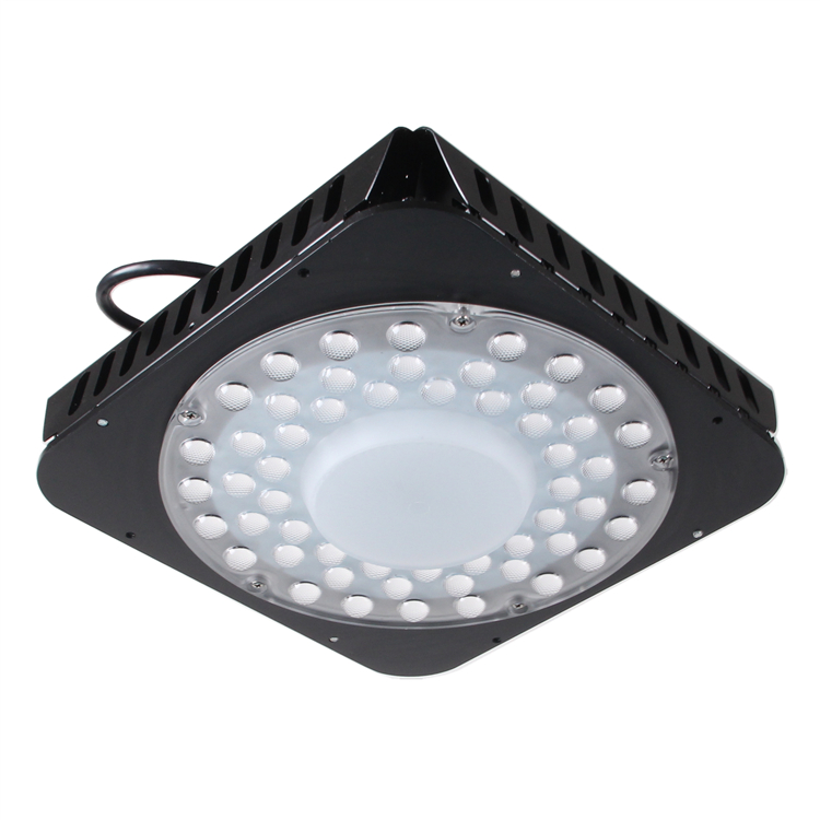 Square-LED-UFO-High bay-150w-120degree